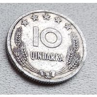 Албания 10 киндарок, 1964 6-4-41