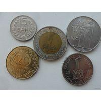 Набор монет 3 /цена за все/