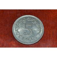 Мальта 5 центов 1976