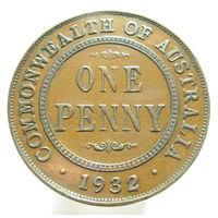 Австралия 1 пенни 1932 большая
