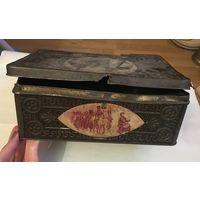 Коробка от конфет Д.Ф. Константинова преемникъ А.И. Лагодинъ Москва К 100-ю войны с Наполеоном