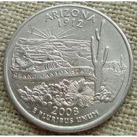 25 центов 2008 США - Аризона