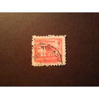 Куба 1958 г.Почтовый налог.