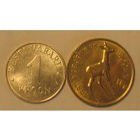 1 + 5 крон 1993 Эстония