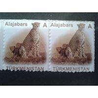 Туркменистан 2007 гепард, пара