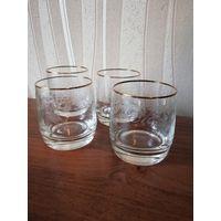 Стаканы чешское стекло
