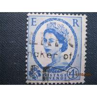 Марки Великобритания 1953 год Королева Елизавета II