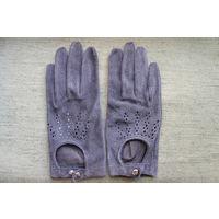 Женские перчатки нат. кожа.