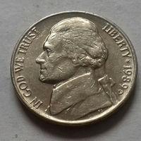5 центов, США 1989 D