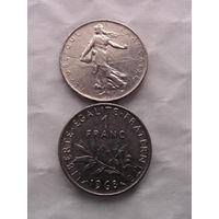 1 франк франции 1968г.  распродажа