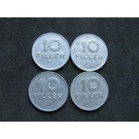 Венгрия 10 филлеров 1969