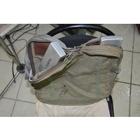 Из прочнейшей ткани одна из разновидностей -ЧЕШСКАЯ сумки-рюкзака НАЗа лётчика СССР.