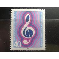 Берлин 1976 Певческий союз Михель-1,0 евро