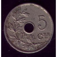 5 сентимос 1921 год Бельгия