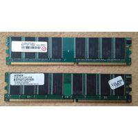 Оперативная память DDR1 2x1Gb