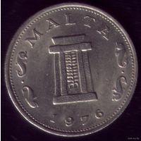 5 центов 1976 год Мальта