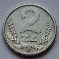 Польша, 2 злотых 1989 г.