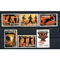 Гайана - 1989 - Летние Олимпийские игры - [Mi. 3064-3069] - полная серия - 6 марок. Гашеные.