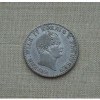 Пруссия, 2,5 грошена 1842 г., серебро, Фридрих Вильгельм IV (1840-1861)