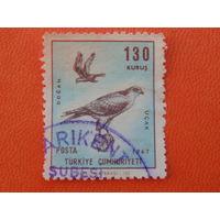Турция 1967г. Птицы.