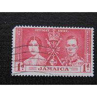 Английская Ямайка 1937 г. Коронация.