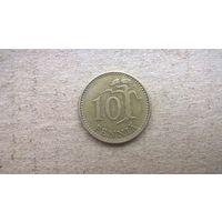 Финляндия 10 пенни, 1963г. (U-обм)