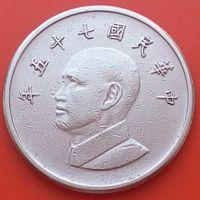 1 доллар 1986 ТАЙВАНЬ