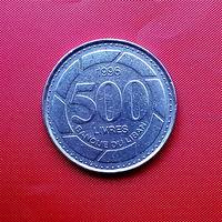 97-05 Ливан, 500 ливров 1996 г.