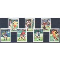 Гвинея-Биссау 1988 Футбол. ЧМ, полная серия 7 м. 15.00 Е