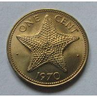 Багамы 1 цент 1970 РЕДКАЯ (61)