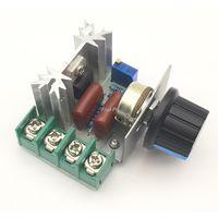 Диммер, регулятор мощности симисторный  220 вольт 2000 ватт