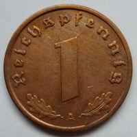 Нацистская Германия 1 рейхспфенниг 1938 А