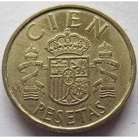 Испания 100 песет 1985 - год пореже!