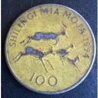 Танзания, 100 шиллингов 1994