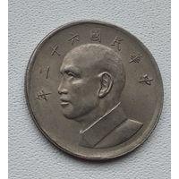 Тайвань 5 долларов, 1973 1-12-8