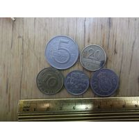 Пять монет/5 с рубля!