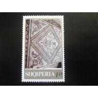 Албания 1969 античная мозаика