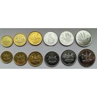 Лесото НАБОР 6 монет 1998 - 2018 UNC