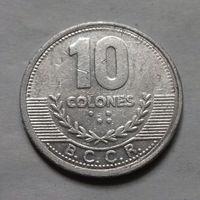 10 колон, Коста-Рика 2008 г.