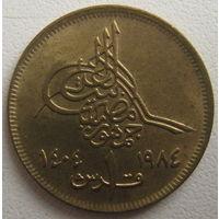 Египет 1 пиастр 1984 г. (d)