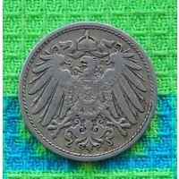Германия 10 пфеннигов 1905 года. Монетный двор D.