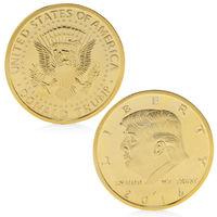 Позолоченная памятная монета президент Дональд Трамп. распродажа