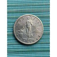 Филиппины 1 песо 1908 S г.
