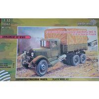 Советский грузовой автомобиль ЗиС-6  1:72 Зебрано