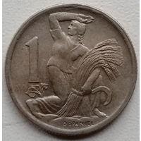 Чехословакия 1 крона 1946
