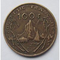 Французская Полинезия 100 франков 1976