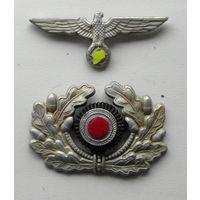 """Орел и """" капуста"""" фуражки вермахт(копия).Германия.3 Рейх."""