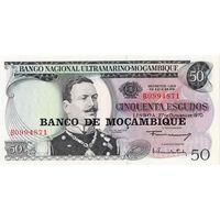 Мозамбик, 50 эскудо, 1970 г., UNC