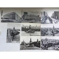 Набор открыток Москва (8 штук) 1973 год