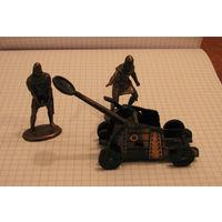 Фигурки  рыцари  катапульта  Playme